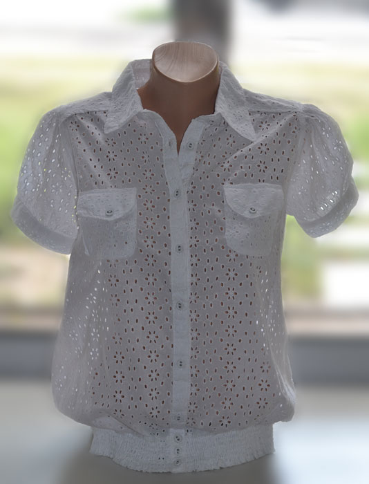Хлопчатобумажные Блузки
